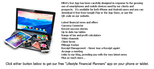 MRA App - We can be with you wherever you go