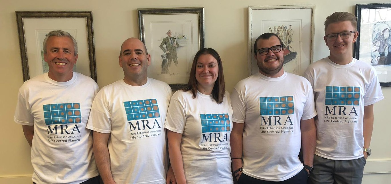 Photo of the MRA team
